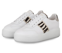 Plateau-Sneaker ELISE ZIYA - WEISS