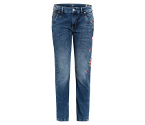 Boyfriend Jeans RICH BUTTERFLY