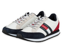 Sneaker - WEISS/ DUNKELBLAU/ ROT