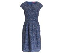 Kleid - blau/ weiss/ hellrot