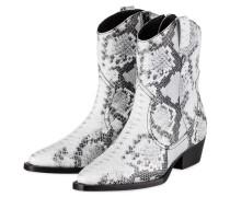 Cowboy Boots - WEISS/ SCHWARZ