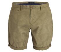 Chino-Shorts - oliv