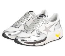 Sneaker RUNNING SOLE - WEISS/ SILBER