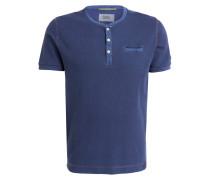 Henley-Shirt - dunkelblau