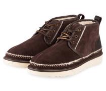 Desert-Boots NEUMEL STITCH - DUNKELBRAUN