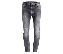 Destroyed-Jeans SKINNY TAPER Skinny-Fit