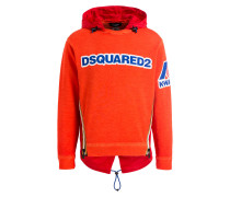 Schlupfjacke - orange/ rot