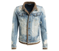 Destroyed-Jeansjacke KYRIN