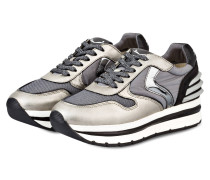 Plateau-Sneaker MAY POWER - GOLD/ GRAU