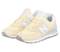 Sneaker WL574 - HELLGELB