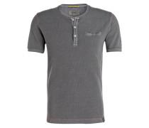 Henley-Shirt - grau