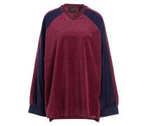 Pullover - navy/ bordeaux