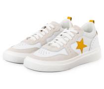 Sneaker ALEX 8 - WEISS/ GELB