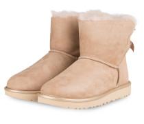 Boots MINI BAILEY BOW METALLIC - HELLBRAUN