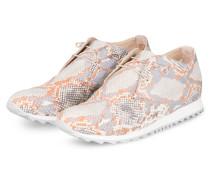 Plateau-Sneaker - HELLGRAU/ GRAU/ ORANGE