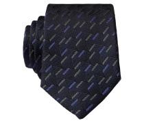 Krawatte - schwarz/ grün/ lila