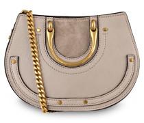 Handtasche PIXIE BELT MINI - pastell grey