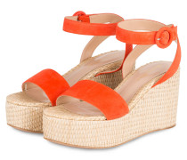 Wedges - ORANGE/ BEIGE