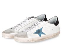 Sneaker SUPERSTAR - weiss/ schwarz/ blau