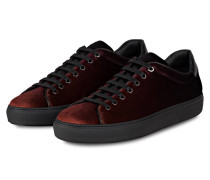 Samt-Sneaker MIRAGE - ROT/ NERO