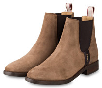 Chelsea-Boots FAY - HELLBRAUN