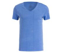 T-Shirt Shaped Fit - blau