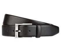 Ledergürtel C-ELLOY - schwarz