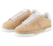 Sneaker im Espadrilles-Stil - SAND