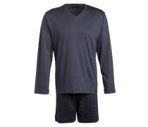 Loungeshirt BASIC LOUNGE - grau