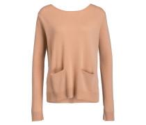 Cashmere-Pullover - lachs