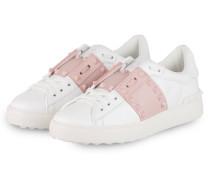 Sneaker OPEN - WEISS/ WATERROSE