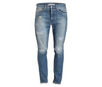 Destroyed-Jeans Skinny Fit