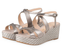 Wedges KAFIA - SILBER METALLIC