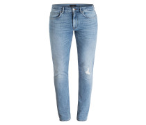 Destroyed-Jeans Straight-Fit