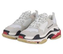 Sneaker TRIPLE S - WEISS/ BEIGE