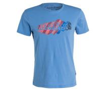 T-Shirt SERVIAN - blau