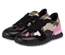 Sneaker CAMOUFLAGE - PINK/ SCHWARZ/ GOLD