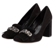 Loafer-Pumps - SCHWARZ