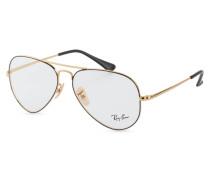 Brille RX6489 - 2946 - gold/ schwarz