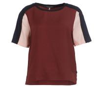 T-Shirt - rosa/ navy/ braun