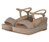 Sandaletten KATIA - HELLGRAU
