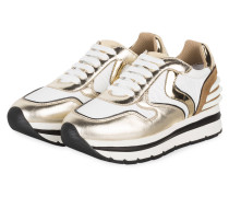 Sneaker MAY POWER - GOLD/ WEISS
