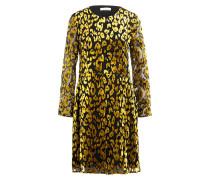 Kleid KAYLA - schwarz/ gold