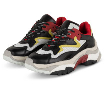 Sneaker ADDICT - SCHWARZ/ WEISS/ ROT