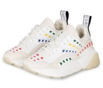Plateau-Sneaker ECLYPSE - WEISS/ GRÜN/ ROT