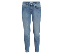 Skinny-Jeans - blau denim