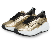 Plateau-Sneaker YUKO - GOLD/ SCHWARZ