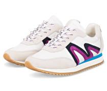 Plateau-Sneaker ABIGAILLE - WEISS/ LILA