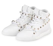 Hightop-Sneaker ROCKSTUD - WEISS