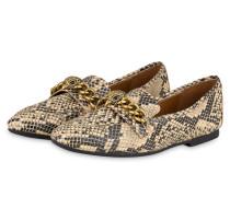 Loafer - SCHWARZ/ BEIGE